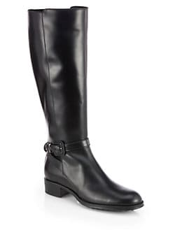 Tod's - Leather Riding Boots