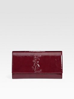 Saint Laurent - Large Patent Leather Clutch
