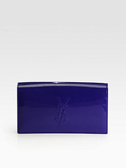 Saint Laurent - Saint Laurent Belle De Jour Patent Leather Clutch