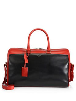 Saint Laurent - Saint Laurent Bicolor Duffle 12 Bag
