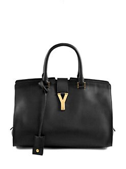 Saint Laurent - Saint Laurent Cabas Classique Y Line Top Handle Bag