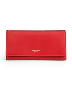 Saint Laurent - Saint Laurent Marquage Dore Wallet