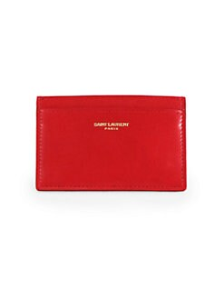 Saint Laurent - Saint Laurent Marquage Credit Card Case