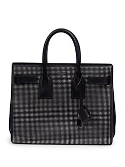 Saint Laurent - Saint Laurent Sac De Jour Small Studded Tote