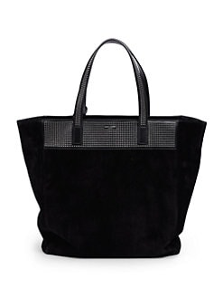 Saint Laurent - Saint Laurent Reversible Small Shopping Tote Bag