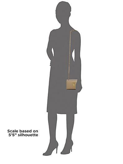 Saint Laurent Classic Monogram Saint Laurent Clutch In Black Grain De Poudre Textured Leather