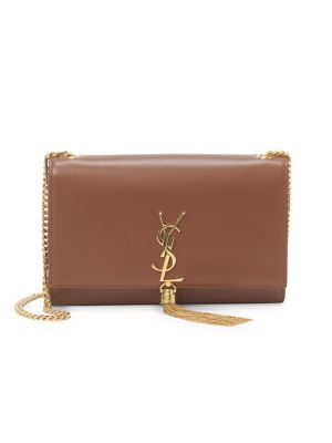 Medium Kate Monogram Leather Tassel Chain Shoulder Bag