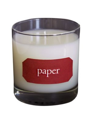Paper Library Scented Candle