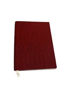 Assouline - Red Didot Notebook