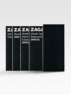 Zagat Survey - 2009/2010 Travel & Leisure Leather Box Set