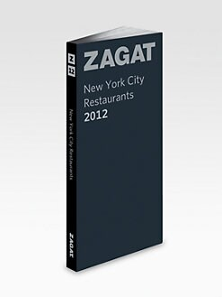 Zagat Survey - New York City Restaurants 2012, Leather Cover