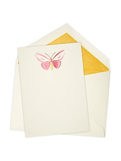 Mrs. John L. Strong - Butterfly Note Card Set