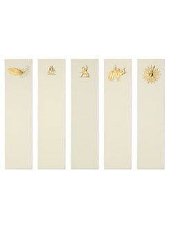 Mrs. John L. Strong - Gold Assorted Bookmarks Set