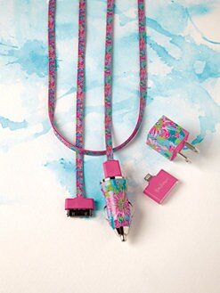 Lilly Pulitzer - Trippin' and Sippin' iPhone Charging Kit