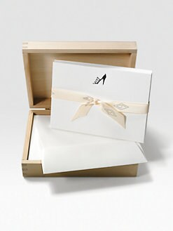 Charles Fradin Home - Letterpressed Shoes Card Set