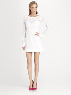 Nanette Lepore - Lithograph Lace Dress