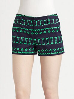 Nanette Lepore - Inkblot Print Shorts