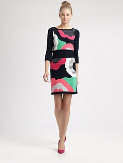 Nanette Lepore - Cartoonist Dress