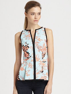 Nanette Lepore - Break Beat Peplum Top
