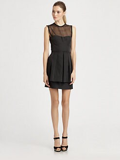 Nanette Lepore - Lightshow Peplum Dress