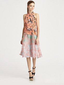 Nanette Lepore - Sound Art Silk Dress
