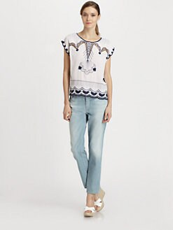 Nanette Lepore - Olympia Silk Top