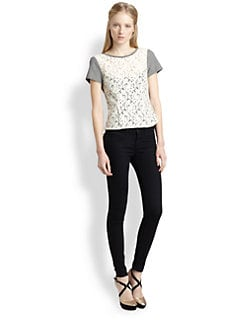 Nanette Lepore - Spectacle Lace Top