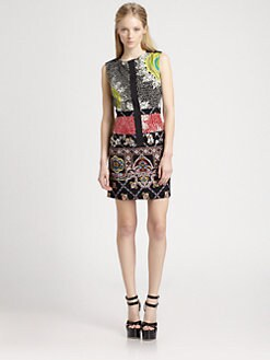 Nanette Lepore - Medallion Print Rodeo Dress