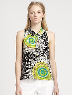Nanette Lepore - Medallion-Print Top