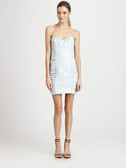 Nanette Lepore - Wild Child Leather Dress