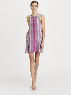Nanette Lepore - Silk Sunset Dress