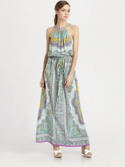 Nanette Lepore - Beach Lover Silk Dress