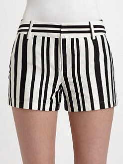 Nanette Lepore - Striking Striped Shorts