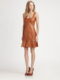 Nanette Lepore - Stolen Kiss Leather Dress