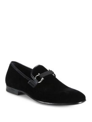 Velvet Party Loafers