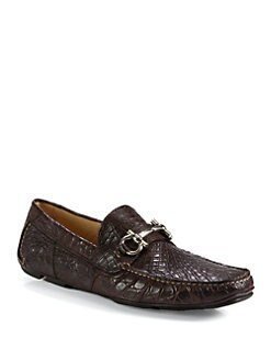 Salvatore Ferragamo - Parigi Croc Driver