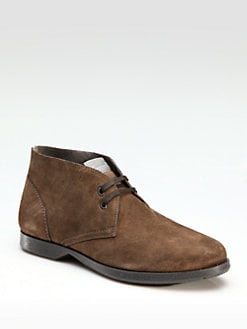 Salvatore Ferragamo - World Metro Chukka Boots/Brown
