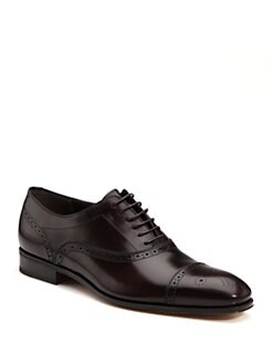 Salvatore Ferragamo - Casey Captoe Lace-Ups
