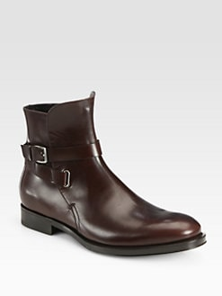 Salvatore Ferragamo - Leather Dress Boots