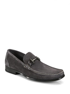 Salvatore Ferragamo - Suede Loafers