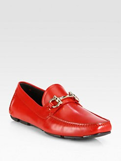 Salvatore Ferragamo - Leather Loafers