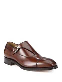 Salvatore Ferragamo - Arte Monkstrap Slip-On