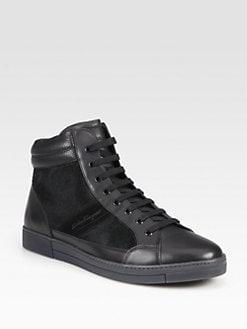 Salvatore Ferragamo - Akira Lace-Up Sneakers