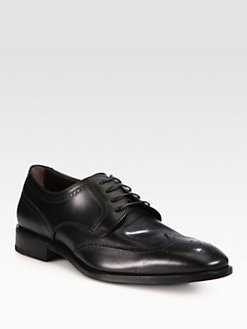 Salvatore Ferragamo - Taylor Wingtip Lace-Ups