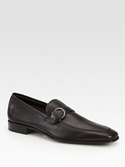 Salvatore Ferragamo - Ticino Side-Buckle Slip-Ons