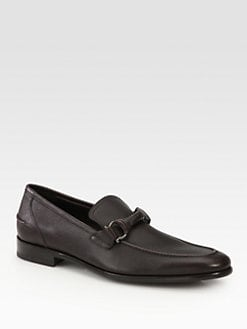 Salvatore Ferragamo - Twist Pebble Slip-Ons