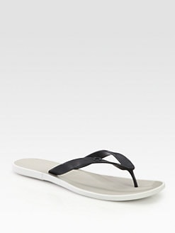 Salvatore Ferragamo - Rubber Thong Sandals