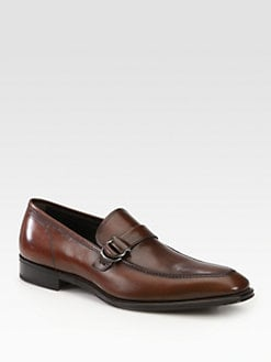 Salvatore Ferragamo - Double-Buckle Loafers