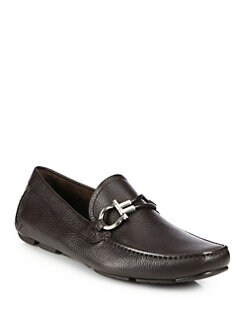 Salvatore Ferragamo - Six II Leather Moccasins