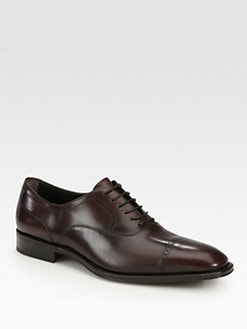 Salvatore Ferragamo - Tony Captoe Lace-Ups
